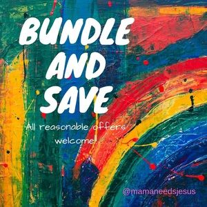 Bundle 2+ items and I will send an offer!